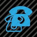 old, phone, retro, telephone icon