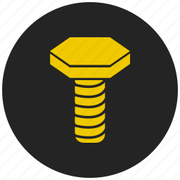 bold, nail, screw, tool, work.construction icon