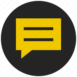 chat, comment, customer support, message bubble, messaging, talk icon
