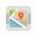 gps, location, map, map ponter, place, travel icon