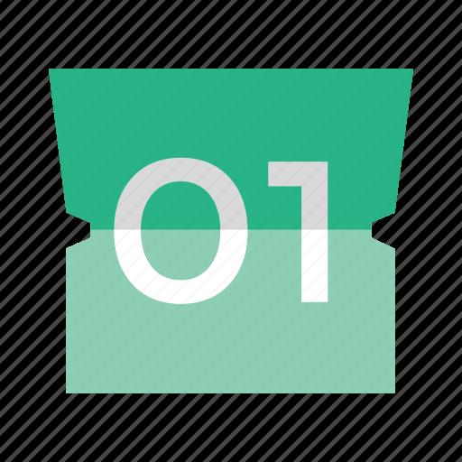 calendar, index, organizer, planner, schedule icon