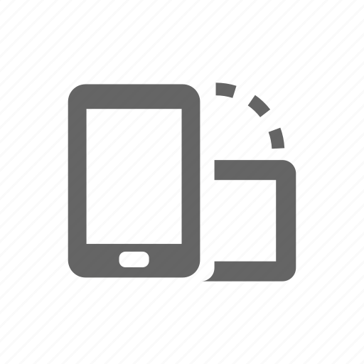 change, landscape, orientation, pad, phone, smart phone, vertical icon