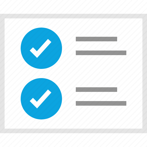 check, double, mark, mockup, ok, website, wireframe icon