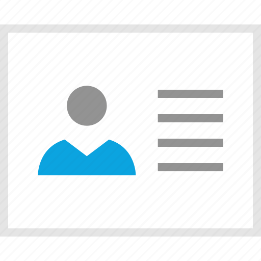 mockup, person, profile, user, website, wireframe icon