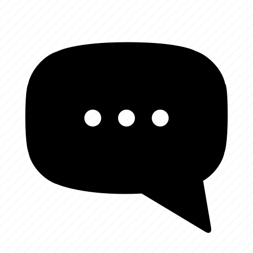 bubble, chat, comment, contact, message, notice, speech, talk icon