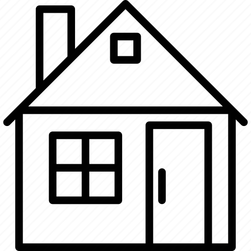 cottage, home, house, rural house icon