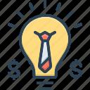 business, concepts, conceptual, idea, merchandise, solution, strategy icon