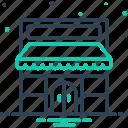 purchase, close, store, shop, market, boutique, marketplace icon