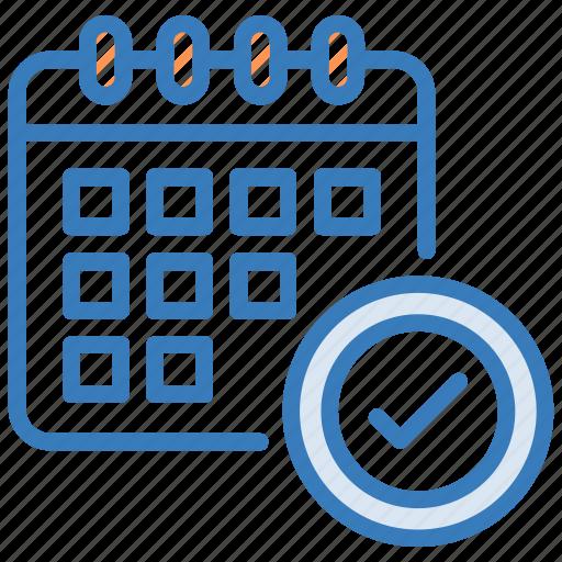 calendar, event planner, planner, schedule, timetable icon