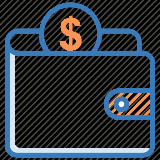 billfold wallet, card holder, purse, wallet, wealth icon