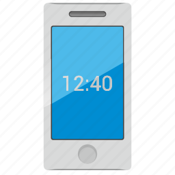device, housing, light, mobile, phone, smartphone icon