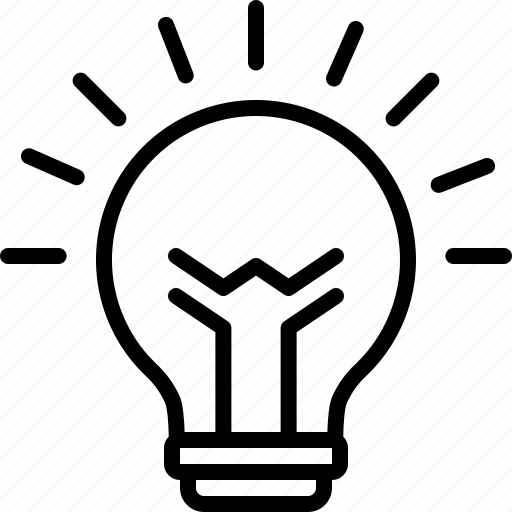 Creative, electric, electricity, idea, inspiration, light, lightbulb icon - Download on Iconfinder