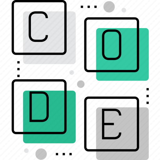 code, coding, education, information, learning, programming, technology icon