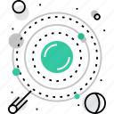 astronomy, exploration, planets, solar, space, system, universe icon
