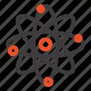 atom, chemistry, laboratory, molecule icon