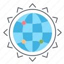 business, globe, optimization, seo, world icon