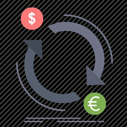 convert, currency, exchange, finance, money icon