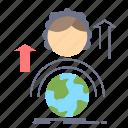 abilities, development, female, global, online icon