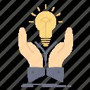 creative, hands, idea, ideas, share