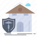 casualty, home, house, insurance, protection icon