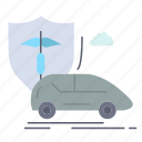 car, hand, insurance, safety, transport icon