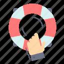 emergency, guard, help, insurance, lifebuoy icon