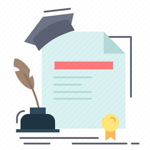 Agreement, award, certificate, degree, education icon - Download on Iconfinder