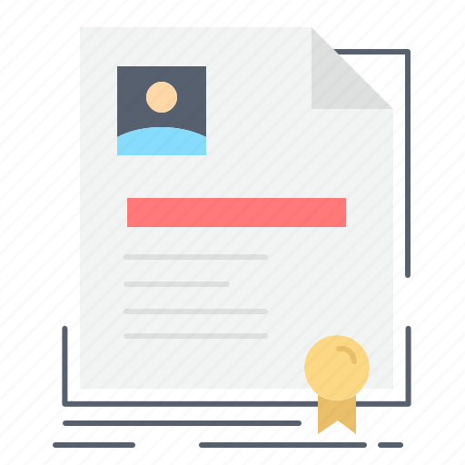 agreement, badge, business, certificate, contract icon
