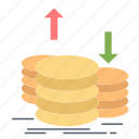 capital, coins, finance, gold, income
