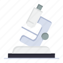 lab, microsope, science, zoom icon