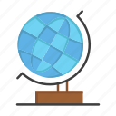 globe, office, web, world icon