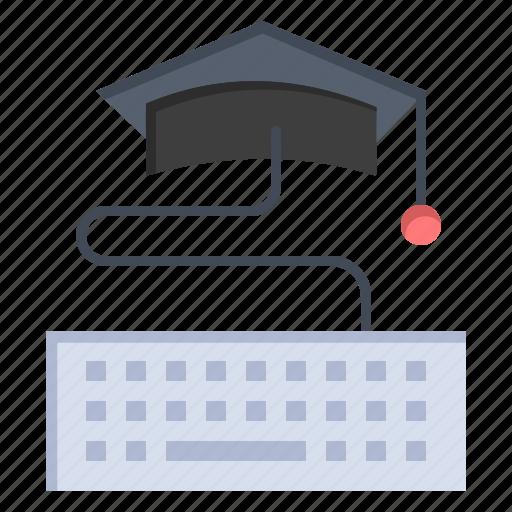 Education, graduation, key, keyboard icon - Download on Iconfinder