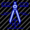 calipers, geometry, measure, tools