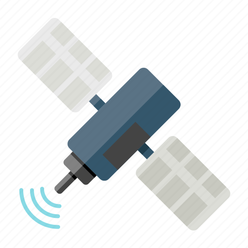 orbit, satellite, signal, tech, technology icon