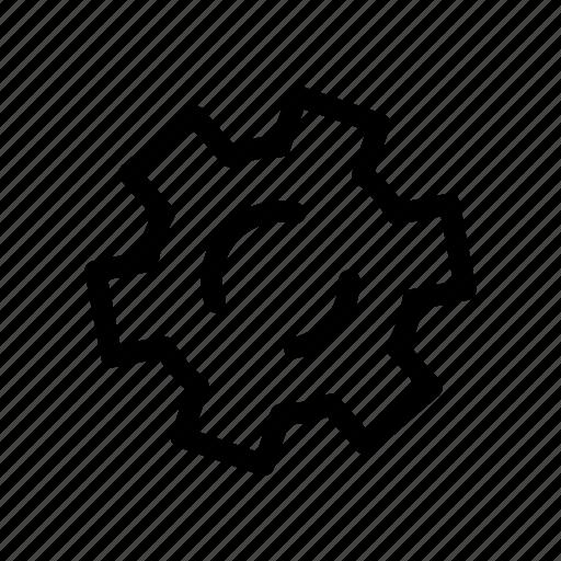 cog, engine, machine, options, preferences, settings icon