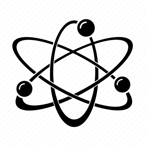 atom, chemistry, particles, physics, science icon