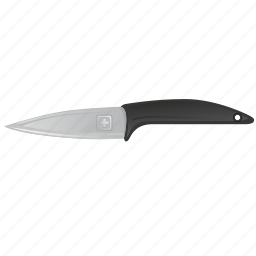 blade, cook, hand, instrument, kitchen, knife, short icon