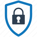 access, denied, security, shield, spyware icon