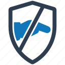 antichief, security, shield, spyware icon