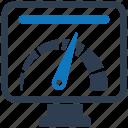 analyzer, pc, security, shield, spyware icon