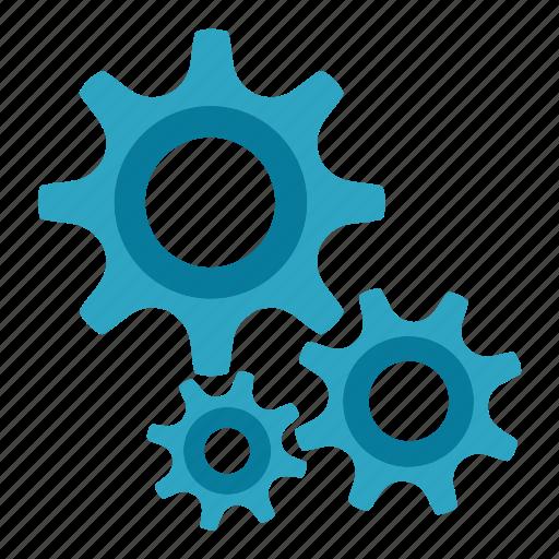 gear, seo tools, settings, social media, web designer, web marketing icon