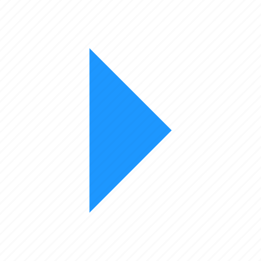 arrow, direction, right, west icon
