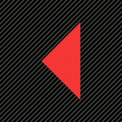 arrow, east, left, navigation icon