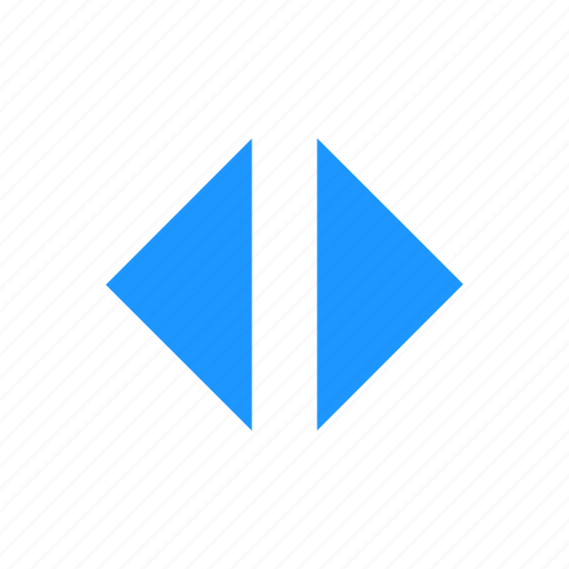 arrows, left and right, navigation, resize icon