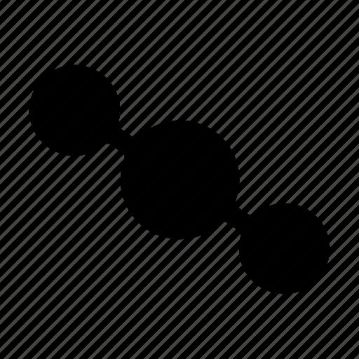 carbon, carbon dioxide, co2, covalent, dioxide, molecule, suffocate icon