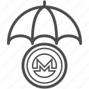 monero, save, saving icon