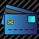 bank, card, credit, debit, master, money, pay icon