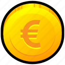 brexit, coin, currency, euro, europe, money icon