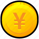 currency, exchange, japan, money, rate, yen icon