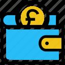 coin, finance, money, payment, pound, purse, wallet
